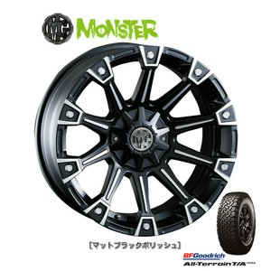 CRIMSON (クリムソン) MG MONSTER [8J] &BFGoodrich All-Terrain T/A KO2 235/70R16 ※個人宅発送不可|bigrun-ichige-store