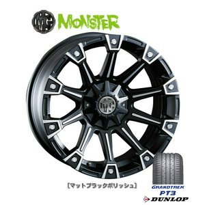 CRIMSON (クリムソン) MG MONSTER & ダンロップ GRANDTREK PT3 265/70R17 ※個人宅発送不可 bigrun-ichige-store