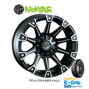 CRIMSON (クリムソン) MG MONSTER & グッドイヤー EfficientGrip SUV HP01 265/70R17 ※個人宅発送不可 bigrun-ichige-store