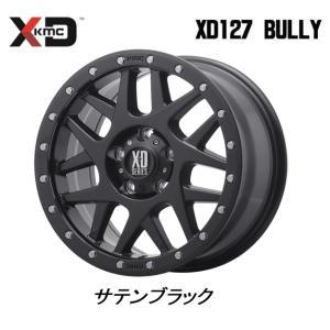 KMC (ケーエムシー) XD127 Bully [Satin Black] 7J-16 +35 5H114.3 お得な4本SET 送料無料 ※個人宅発送不可|bigrun-ichige-store