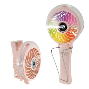 ホノベ電機 携帯 ミニ扇風機 Uハンディ扇風機  充電式  usbファン ハンディファン  強力  ミスト付き RD-MS3000PK|bigshop