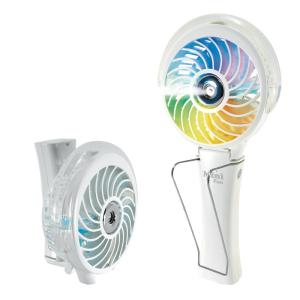 ホノベ電機 携帯 ミニ扇風機 ハンディ扇風機  充電式  usbファン ハンディファン  強力  ミスト付き RD-MS3000WH|bigshop