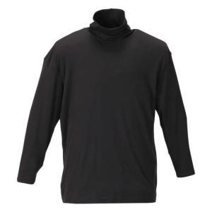 大きいサイズ メンズ Heatchanger タートルネック長袖Tシャツ 3L 4L 5L 6L 8L|bigsize-upstart