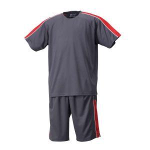 Tシャツ&ハーフパンツのお得なセット!気になる汗とニオイを素早く吸収・消臭してくれる機能素材がうれし...