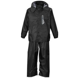 透湿防水レインスーツ 大きいサイズ メンズ Mc.S.P  ブラック bigsize