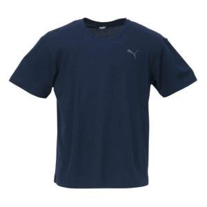 DRYハニカム半袖Tシャツ 大きいサイズ メンズ PUMA ネイビー bigsize