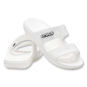 【新作・新着商品!】サンダル(クラシッククロックスサンダル) 大きいサイズ メンズ crocs  ホワイト bigsize
