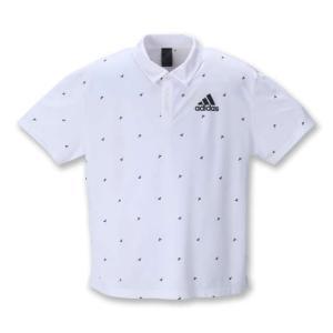 【新作・新着商品!】半袖ポロシャツ 大きいサイズ メンズ adidas  ホワイト bigsize