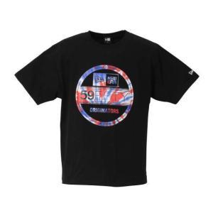 【新作・新着商品!】Tie Dye半袖Tシャツ 大きいサイズ メンズ NEW ERA  ブラック|bigsize