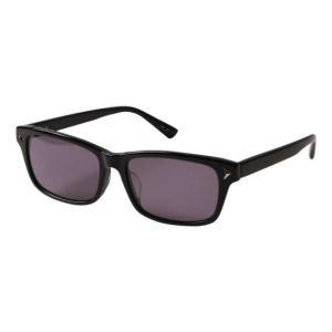 ワイドサングラス 大きいサイズ メンズ メガネスーパー  ブラック bigsize