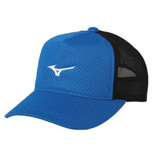 ソフトテニス キャップ ミズノ(シアン) 帽子|bigsports