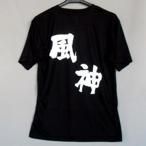 バレーボール 半袖Tシャツ(風神)(背中プリント)|bigsports