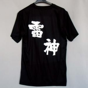バレーボール 半袖Tシャツ(雷神)(背中プリント)|bigsports