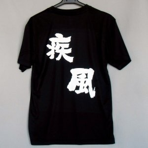 バレーボール 半袖Tシャツ(疾風)(背中プリント)|bigsports