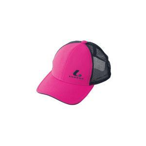 ソフトテニス キャップ ルーセント(ピンク)帽子|bigsports