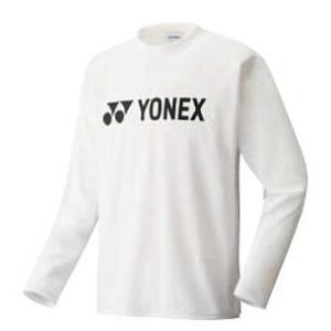 ヨネックス ソフトテニス 長袖Tシャツ(ホワイト)|bigsports
