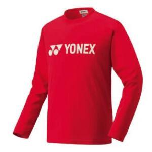 ヨネックス ソフトテニス 長袖Tシャツ(クリスタルレッド)|bigsports