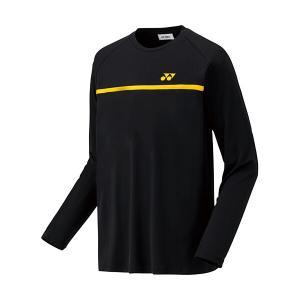ヨネックス ソフトテニス 長袖Tシャツ(ブラック)|bigsports