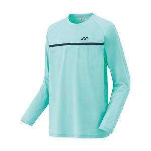 ヨネックス ソフトテニス 長袖Tシャツ(アクアミント)|bigsports