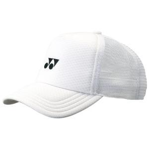 ソフトテニス キャップ ヨネックス(ホワイト) 帽子|bigsports