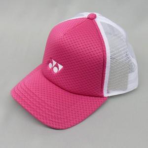 ヨネックス ソフトテニス キャップ(ブライトピンク) 帽子|bigsports