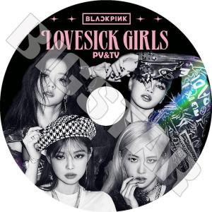 K-POP DVD Black Pink 2020 PV&TV セレクト Lovesick Girls ICE CREAM ブラックピンク ジェニ ジス ロゼ リサ KPOP DVD