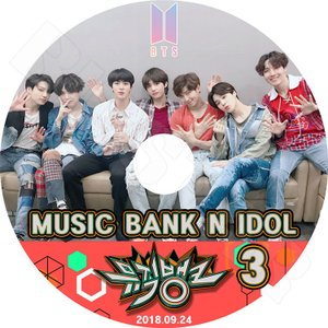 K-POP DVD/BTS 防弾少年団 Music Bank N IDOL #3★(2018.09.24)/防弾少年団 バンタン少年団 KPOP DVD/