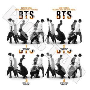 K-POP DVD BTS BURN THE STAGE 4枚SET EP01-EP08 日本語字幕...