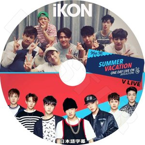 K-POP DVD/IKON SUMMER VACATION V LIVE (2015.08.21)...