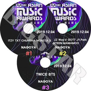 K-POP DVD/2019 Mnet Asian Music Awards/3枚SET/2019....