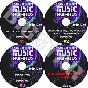 K-POP DVD/2019 Mnet Asian Music Awards/4枚SET/2019....