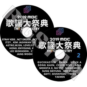 K-POP DVD/2019 MBC 歌謡大祭典/2枚SET/2019.12.31★TWICE SE...
