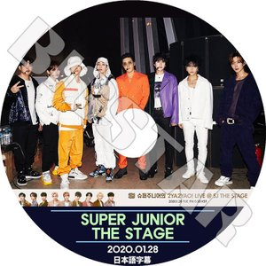 K-POP DVD/SUPER JUNIOR THE STAGE/2020.01.28★日本語字幕あり/スーパージュニア KPOP DVD|bigstar-shop