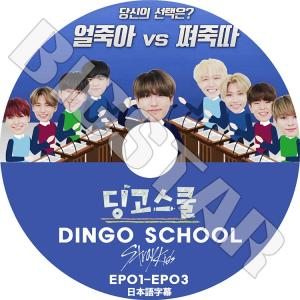 K-POP DVD/Stray Kids DINGO SCHOOL/EP01-EP03★日本語字幕あり/ストレイキッズ KPOP DVD|bigstar-shop