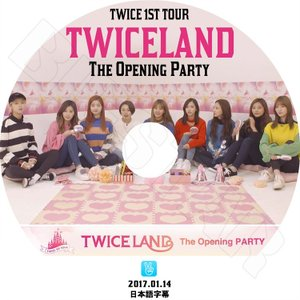 K-POP DVD/TWICE 1st Tour TWICELAND V LIVE The Open...
