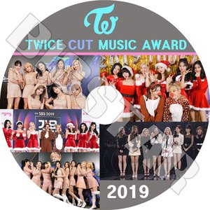 K-POP DVD/TWICE 2019 MUSIC AWARD CUT★MAMA KBS MBC ...