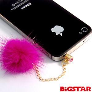 フォンピアス付ファーストラップ ピンク BPS-08 (激安メガセール!)|bigstar