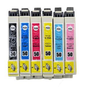 互換インクカートリッジ EPSON (エプソン) IC6CL50互換 6色セット インクカートリッジ AICE50SET6|bigstar