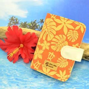 HONU HONU ( ホヌホヌ ) カードケース オレンジ HN-005|bigstar