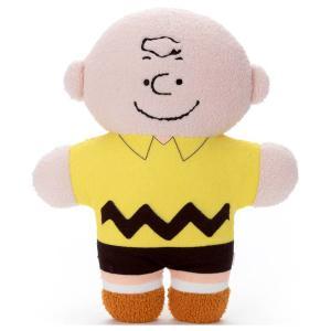 スヌーピー ぬいぐるみクッション もふらっと チャーリー・ブラウン bigstar