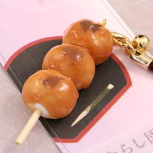 ミニチュア和菓子シリーズ 和菓子根付けストラップ2 みたらし団子 AR0501084|bigstar