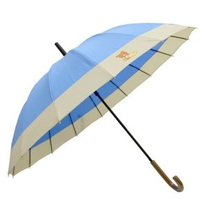 【同梱不可】リラックマ 浮き出るワンタッチ和傘 RL067|bigstar