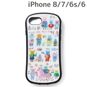 CRAFTHOLIC (クラフトホリック) x YUMI KITAGISHI iPhone8 iPhone7 iPhone6 iPhone6s (4.7インチ) 専用 ガラスケース party J4723-20 bigstar