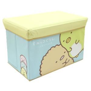 (当店オリジナル柄) すみっコぐらし キャラクターストレージBOX ぎゅー SG-5556353GY|bigstar