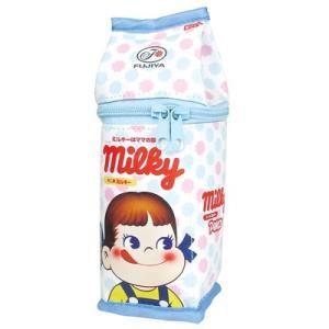 ペコちゃん 牛乳パック型 ペンポーチ  ミルキー/パターン PE-5523386PT|bigstar