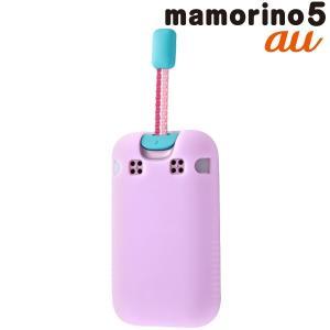 ☆ au mamorino5 (マモリーノ5) 専用 シルコンケース シルキータッチ ラベンダー RT-MM5C1/LD|bigstar