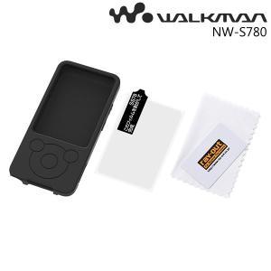 ☆ WALKMAN NW-S780シリーズ用 シリコンジャケット(シルキータッチ) ブラック RT-SS78C1/B (メール便送料無料)|bigstar