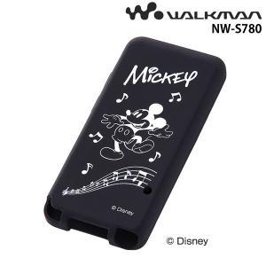 ☆ ディズニー WALKMAN NW-S780シリーズ用 シリコンジャケット ミッキー RT-DSS78A/MK (メール便送料無料)|bigstar