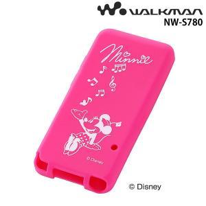 ☆ ディズニー WALKMAN NW-S780シリーズ用 シリコンジャケット ミニー RT-DSS78A/MN (メール便送料無料)|bigstar
