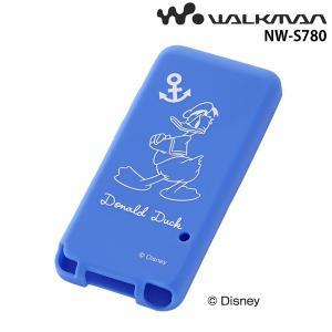 ☆ ディズニー WALKMAN NW-S780シリーズ用 シリコンジャケット ドナルド RT-DSS78A/DD (メール便送料無料)|bigstar